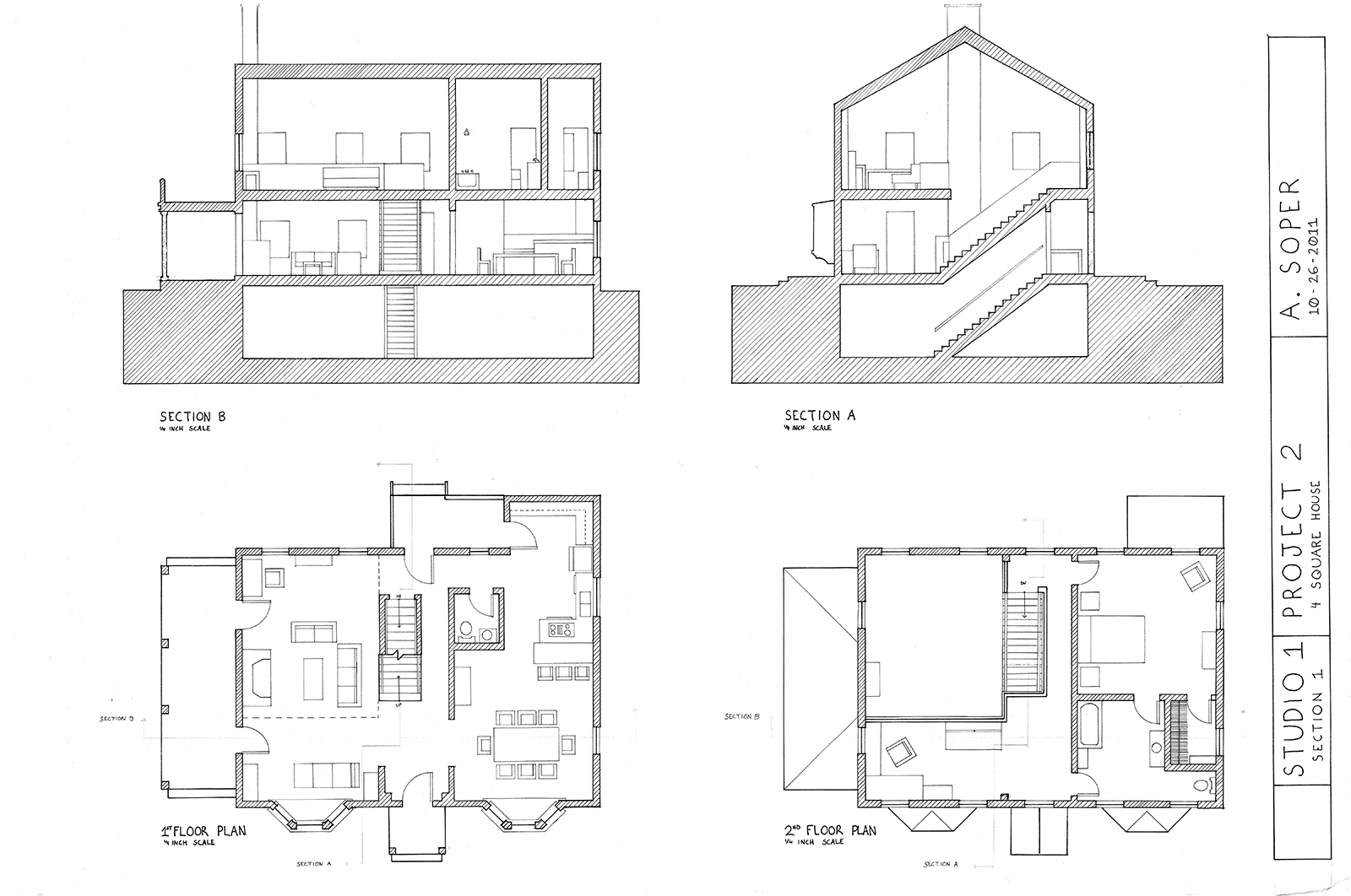 St1_P2_FloorPlans&Sections
